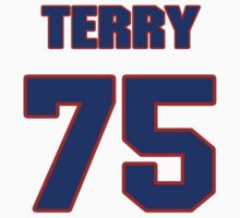 National football player Terry Crouch jersey 75 by imsport
