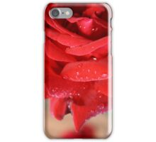 red love rose iPhone Case/Skin