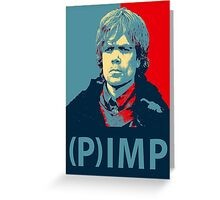 Lannister (P)IMP  Greeting Card