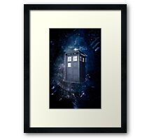 ThroughTime And Space Framed Print