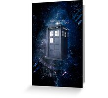 ThroughTime And Space Greeting Card