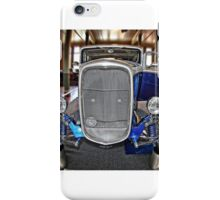 BLU-032 Front iPhone Case/Skin