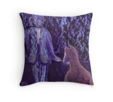 Nice doggie or small horse Throw Pillow