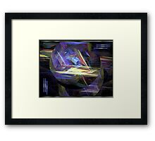 Energetic Forces Framed Print