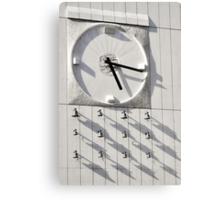 Bratislava clock Canvas Print