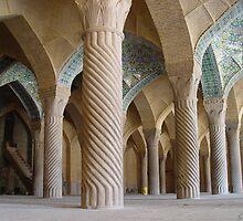 Regent's Mosque (Masjid-e Vakil) Shiraz, Iran by edwardlewis59