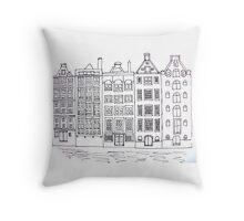 Dutch Houses  Throw Pillow