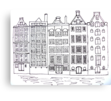 Dutch Houses  Canvas Print