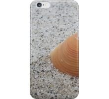 Lone shell at Mangawhai surf beach iPhone Case/Skin