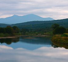 Mountain Reflections by Deborah  Benoit