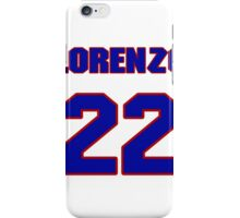National football player Lorenzo Neal jersey 22 iPhone Case/Skin