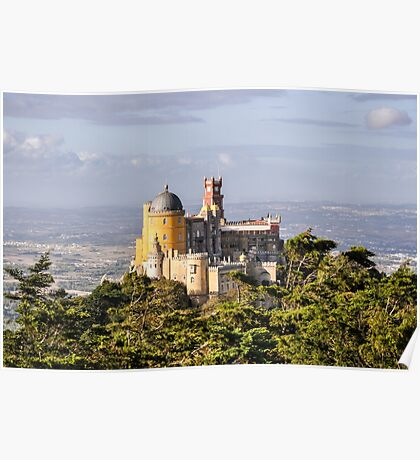 Pena National Palace Poster