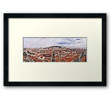 Lisbon panorama Framed Print