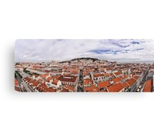 Lisbon panorama Canvas Print
