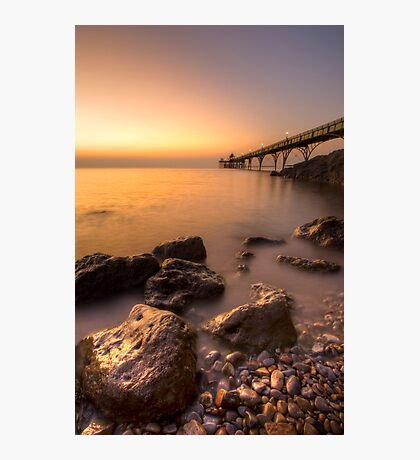 Clevedon Pier revisited Photographic Print