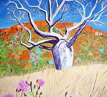 Kimberley Boab tree by gillsart