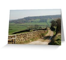 A View near Danby Castle Greeting Card