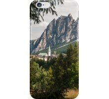 Cortina D'Ampezzo iPhone Case/Skin