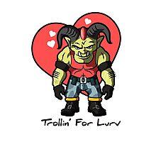 Trollin' for Lurv Photographic Print