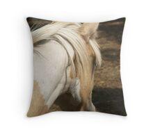 Chincoteague Mare Throw Pillow