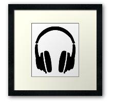 DJ' s Headphones Framed Print
