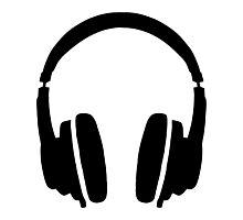 DJ' s Headphones Photographic Print