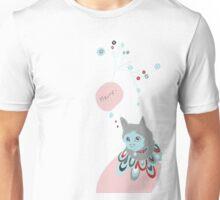 cat simple illustration tee Unisex T-Shirt