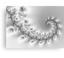 Crystal Floral Vine... Canvas Print