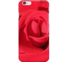 Single Red Rose #1 iPhone Case/Skin