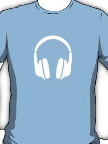 Headphones White T-Shirt