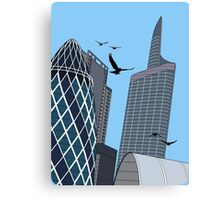30 St Mary Axe Canvas Print