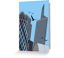 30 St Mary Axe Greeting Card