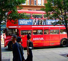 Oxford Street Bus by Lea Valley Photographic
