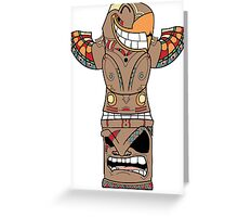 Totem #Retro☯ Greeting Card
