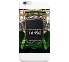 Webby's Speed Shop Front iPhone Case/Skin