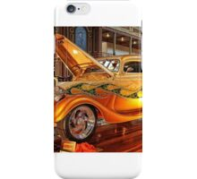 Gold '34 Ford iPhone Case/Skin