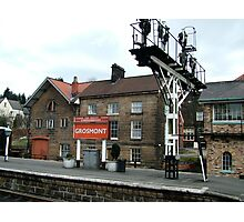 Grosmont Station on the North York Moors Railway Photographic Print