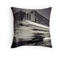 as time flies by Throw Pillow