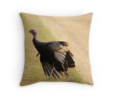 turkey time Throw Pillow