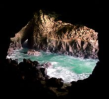 Seal Cave Oregon by Mark Ramstead