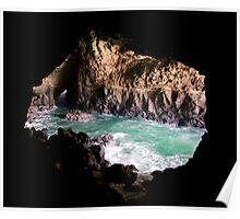 Seal Cave Oregon Poster
