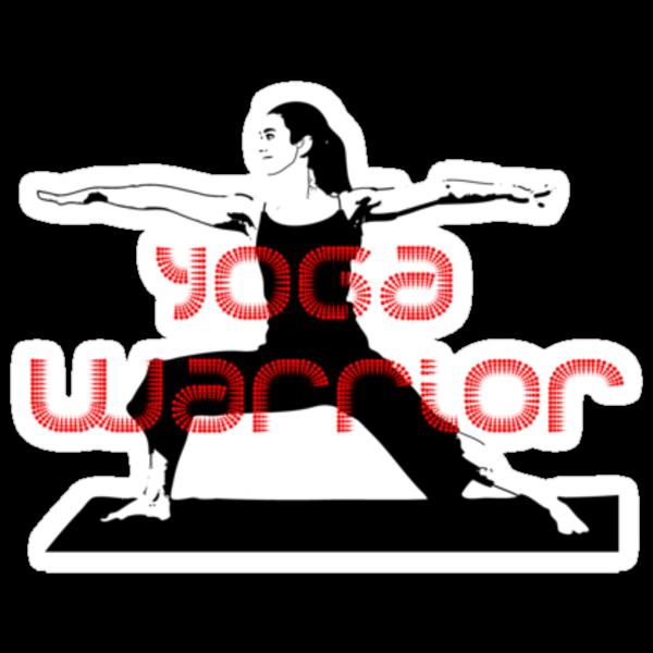 Yoga Warrior by TeeArt