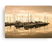 Harbour Dawn for Carolyn Staut Canvas Print