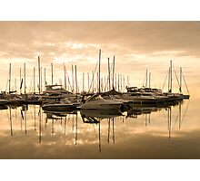 Harbour Dawn for Carolyn Staut Photographic Print