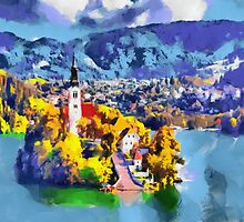 Bled island by ColorfulW