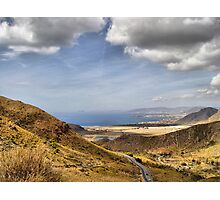 Road to Puerto de Mazarron Photographic Print