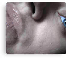 Face Up Canvas Print