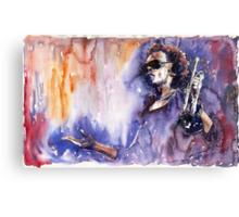 Jazz Miles Davis 14 Canvas Print