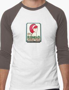 Redhead Piano Bar Men's Baseball ¾ T-Shirt