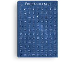 The Origin of Things Canvas Print